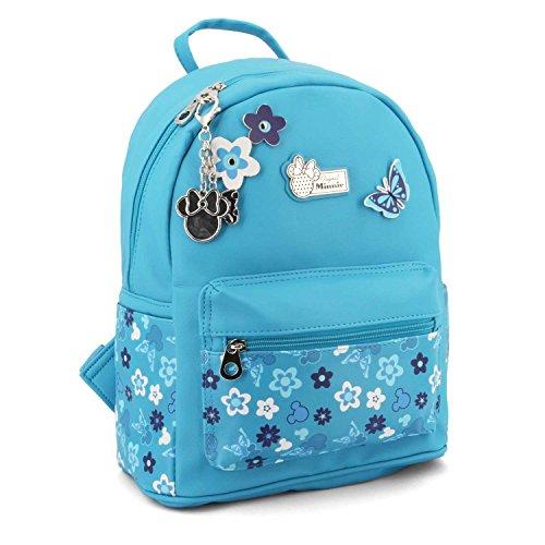 Karactermania Minnie Mouse Fresh-Fashion Backpack Zaino Casual, 31 cm, 13 liters, Blu (Blue)