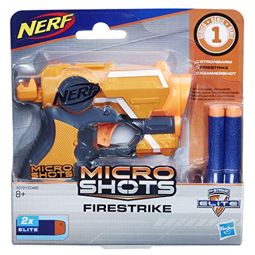 Nerf- Microshots Firestrike SE1, Multicolor (Hasbro E0721ES0)