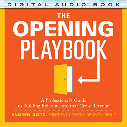 The Opening Playbook audiobook cover art