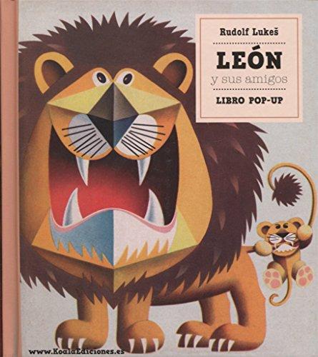 Libro Pop-Up. Leon Y Sus Amigos (De 3 a 6 años) (Clásicos Pop-Up)