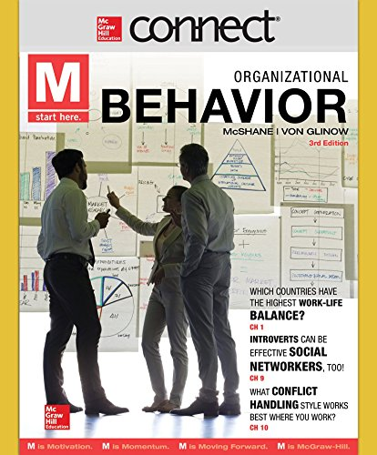 Connect 1 Semester Acess Card for M: Organizational Behavior