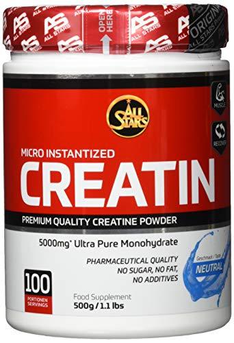 All Stars 100% Creatin Monohydrat Pulver, 500 g