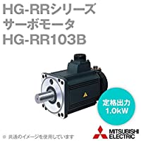 三菱電機 HG-RR103B サーボモータ HG-RRシリーズ (超低慣性・中容量) 電磁ブレーキ付 (定格出力容量 1.0kW) (慣性モーメント 1.85J) NN