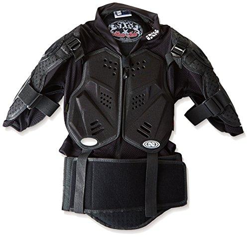 IXS Hammer Jacket Noir (Taille Cadre: Junior Taille Unique) Protection Dorsale Noir Noir KL