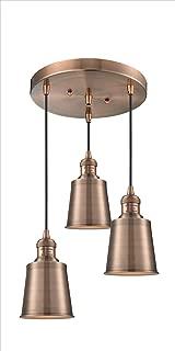 Innovations 211/3-BAB-M9-BAB 3 Light Multi-Pendant, Black Antique Brass