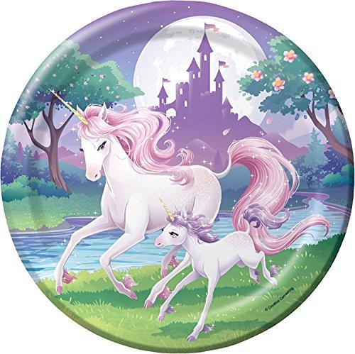 Tortenaufleger * FANTASY EINHORN * als Deko für Torten und Kuchen // Unicorn Kinder Geburtstag...