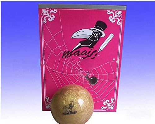 Gowe Bowling Kugel aus Zeichenbrett, Schale A RAMA–Magic Tricks, Nahaufnahmen, Stage, Zubehör, Gimmick, Illusion, Comedy