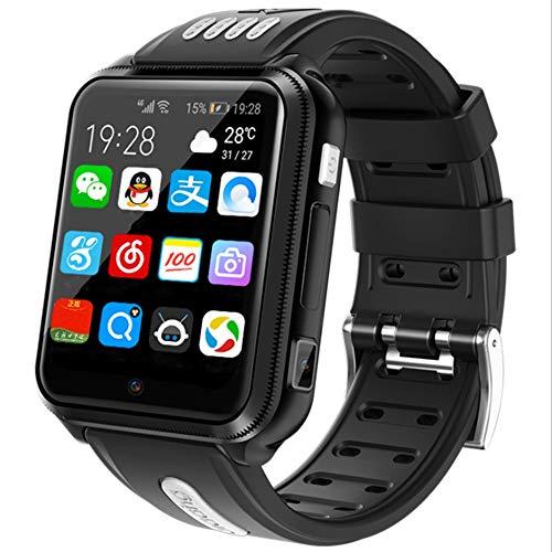 Reloj inteligente para niños, reloj de teléfono para niñas y jóvenes, pantalla táctil con reproductor de música, juegos