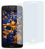 mumbi Schutzfolie kompatibel mit Lenovo Moto G5 Folie klar, Bildschirmschutzfolie (2X)