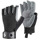 Black Diamond Crag Half Finger Gloves - Guantes de Escalada, Via Ferrata y Entrenamiento