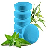6 Shower Steamers Vapor Tablets with Menthol Crystals and Eucalyptus Essential Oil - Strong Long Lasting Effect - 2 oz/Each
