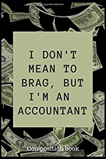 I don't mean to brag, but I'm an accountant: 200 page journal