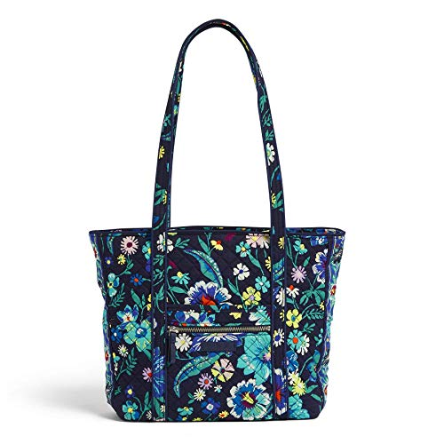Vera Bradley Signature Cotton Small Vera Tote Bag, Moonlight Garden