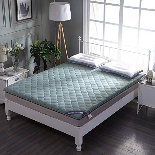 qwqqaq Verdicken Bett Matratze,japanisch Matratze Tatamimatte Schlafen Pad Gesteppte Matratzenauflagen Pad Nicht-Slip Zu Schlafzimmer-schlafsaal Q 180x200x5cm(71x79x2inch)