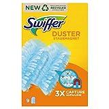 Swiffer Staubmagnet (9 Tücher, 2er Pack) Staubwedel ideal gegen Staub, Tierhaare & Allergene -