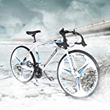 TOUNTLETS 700c Road Bike City Commuter Bicycle with 21 Speeds Drivetrain,...