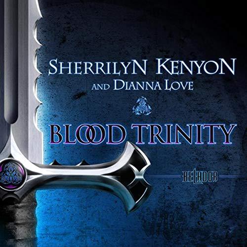 Blood Trinity audiobook cover art