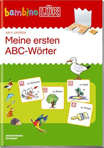 bambinoLÜK/ Vorschule: bambinoLÜK Meine ersten ABC-Wörter: Vorschule / 4/5/6 Jahre - Vorschule: Meine ersten ABC-Wörter