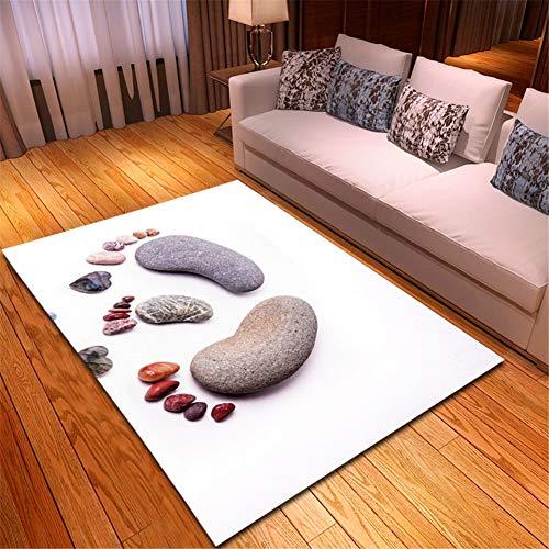 Alfombra Home Habitación Infantil Lavable Suave Antideslizante baratas suelo Rugs Guijarros en...