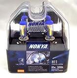Nokya Cosmic White H11 Car Headlight Bulb (Stage 2) .