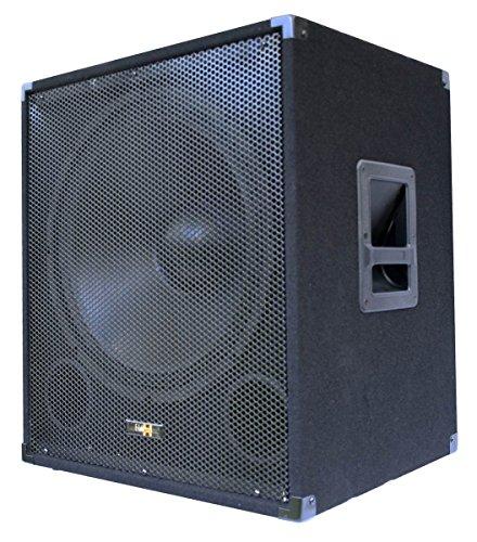 "E-Lektron SUB-P45A aktiver PA-Subwoofer 18\"" / 45cm Bass Lautsprecher Box 1000W"
