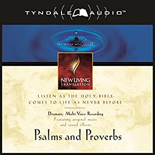 Psalms and Proverbs: NLT audiobook cover art