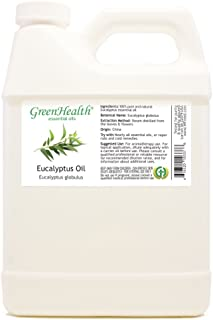 Eucalyptus 100% Pure Therapeutic Grade Essential Oil 32 fl oz (Greenhealth) Free Shipping