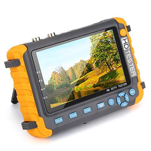 [Upgrade Version] 5 Inch CCTV Camera Tester, Electop 4 in 1...