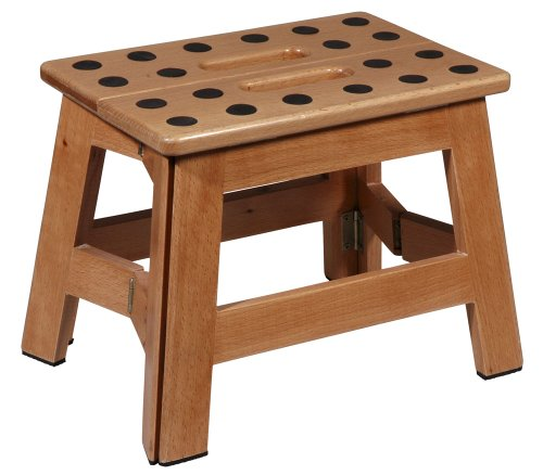 """Cabanaz 1001915 Klapptritt aus Holz \""""James Wood\"""" klein"""