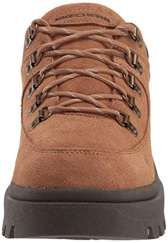 Skechers Women's Shindigs-Stompin' -Rugged Heritage Style 5-Eye Suede Shoe-Boot Oxford