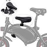 Qwhome Juego de los niños Pedales del Asiento del sillín para la Rueda F DYU Bicicleta eléctrica