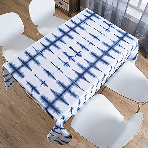 sans_marque Mantel de mesa, mantel de fiesta, mantel de mesa, mantel para interiores o exteriores, cumpleaños, boda, Navidad100 x 140 cm