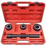 Conjunto de herramientas para desmontar brazo de direccion axial 4 piezas (extractor) y 30-35 mm, 35-40 mm, 40-45mm.