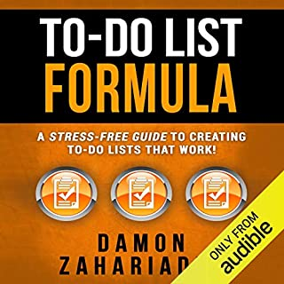 To-Do List Formula audiobook cover art