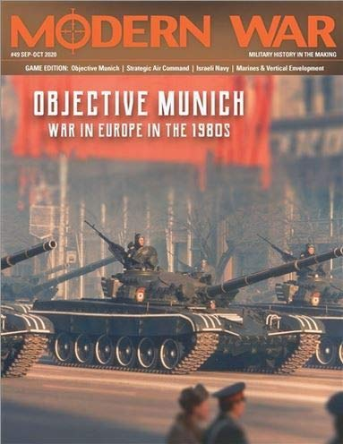 Decision Games DG: Modern War Magazine #49, with Objective Munich, War in Europe in The 1980s, Boardgame