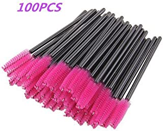 G2PLUS Disposable Eyelash Mascara Brushes Wands Applicator Makeup Kits 100 Pack