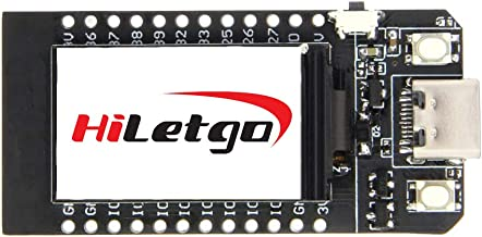HiLetgo ESP32 LCD WiFi Kit ESP-32 1.14 Inch LCD Display WiFi+Bluetooth CP2104 USB Type-C Internet Development Board for Arduino ESP8266 NodeMCU