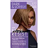 Softsheen-Carson Dark and Lovely Fade Resist Rich Conditioning Hair Color, Permanent Hair Color, Up To 100% Gray Coverage, Brilliant Shine with Argan Oil and Vitamin E, Sun Kissed Brown