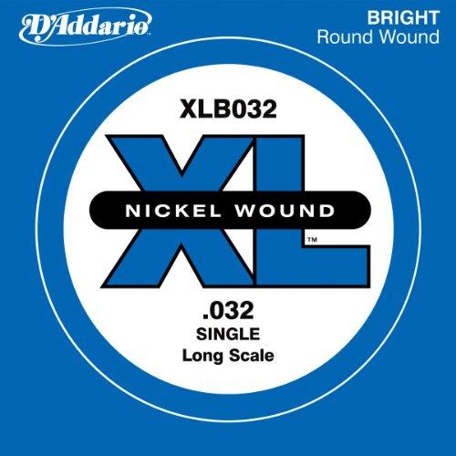 D'Addario XLB032 - Cuerda individual para bajo con