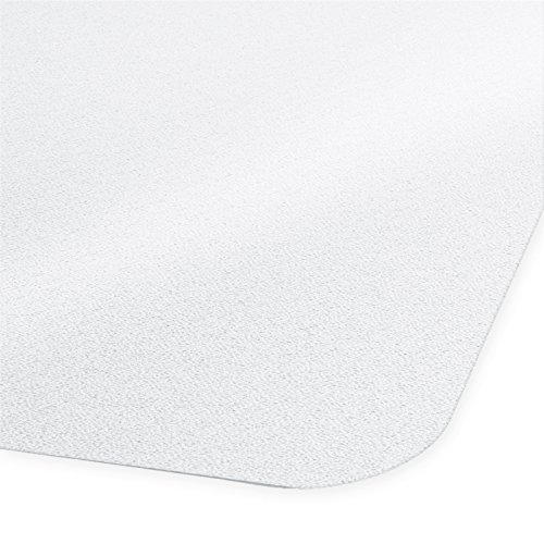 Bodenschutzmatte NEO | transparent & rutschfest | für Hartböden | Größe wählbar (90x120 cm mit Lippe)