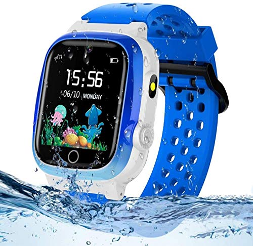 Themoemoe Kids GPS Watch, Kids Smartwatch with GPS...