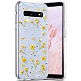 Robinsoni Cover Compatibile con Samsung Galaxy S10 Plus Custodia Trasparente Cover Flessib...