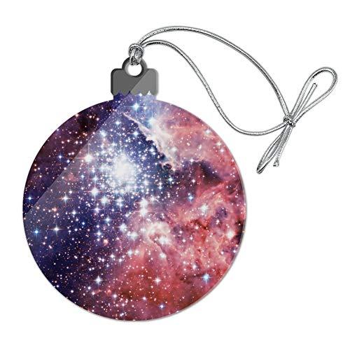GRAPHICS & MORE Nebula Space Galaxy Acrylic Christmas Tree Holiday Ornament