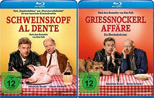 Eberhofer - Schweinskopf al dente + Grießnockerlaffäre im Set - Deutsche Originalware [2 Blu-rays]