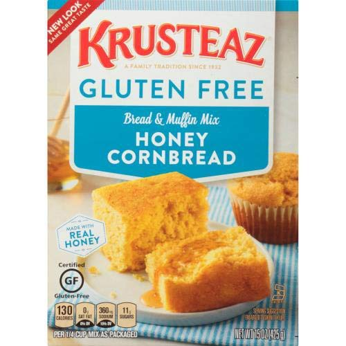 Gluten Free Honey Cornbread Mix And Muffin Mix (Pack of 2)