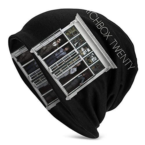 N / A Slouchy Baggy Hat,Manschette Beanie,Lässige Mütze,Winter Beanie Strickmützen,Gestrickte Beanie Hüte,Slouch Beanie Mütze,Streichholzschachtel 20
