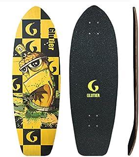 Glutier Surfskate Deck Skate Perfect for Trucks. T...