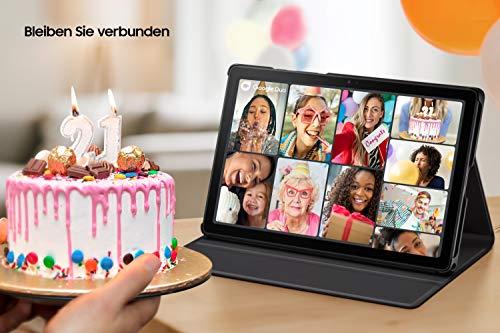 Samsung Galaxy Tab A7, Android Tablet, LTE, 7.040 mAh Akku, 10,4 Zoll TFT Display, vier Lautsprecher, 32 GB/3 GB RAM, Tablet in Grau