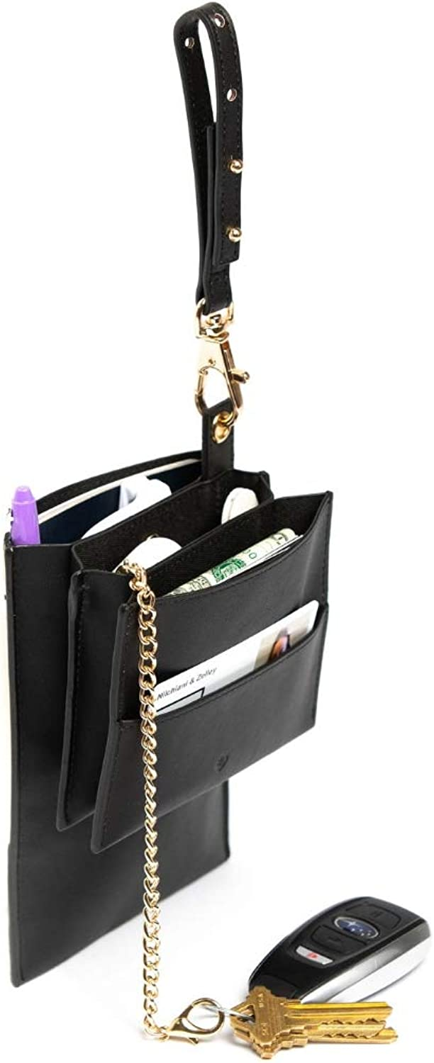 Bag Branch 5 Pocket Bag Organizer Handbag Insert (Add 5 Pockets to Any Purse)