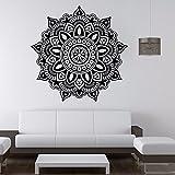 Mandala Blume Indische Schlafzimmer Wandaufkleber Tür